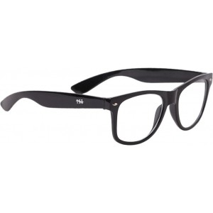 HH CMPTBLKHH01 Black Rectangular Sunglasses