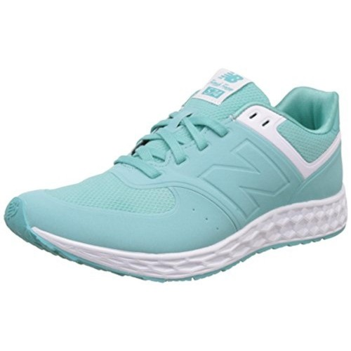 7345a8c447a1 Buy New Balance Aqua   White Synthetic Leather Sports Shoes ...