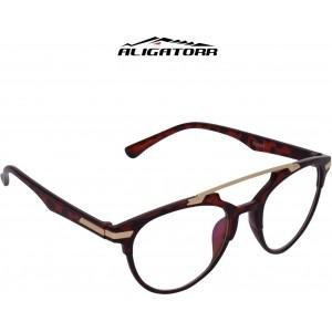 Aligatorr Anti Clear Double Bar Rectangular Sunglasses