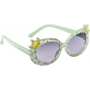 Olvin OL425-04 Mint Printed Oval Sunglasses