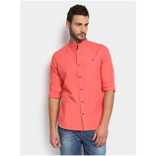 Coral Pink Shirt