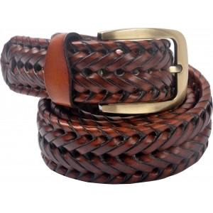 Cavallo Tan Genuine Leather Casual Belt
