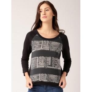 Dressberry Full Sleeve Printed Women\'s Sweatshirt