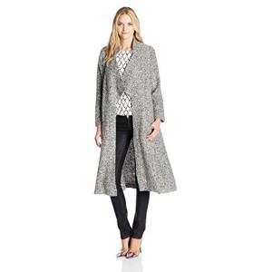 Somedays Lovin Women\'s Shrubs Marled Wool Duster Coat