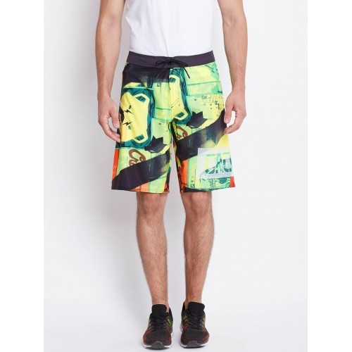 5dca5f1d768 ... Reebok Men Multicoloured RCF SN CORE PRIMED Printed Training Shorts ...