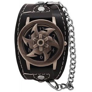 DK Analogue Black Dial Boy's Watch -BYK0583