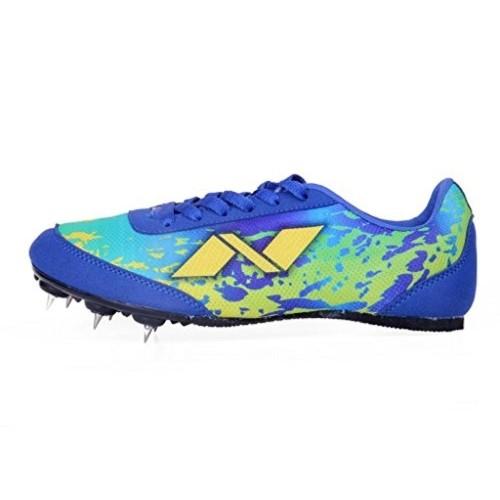 Nivia Yellow & Blue Jumping Zion-1 Sports Shoes