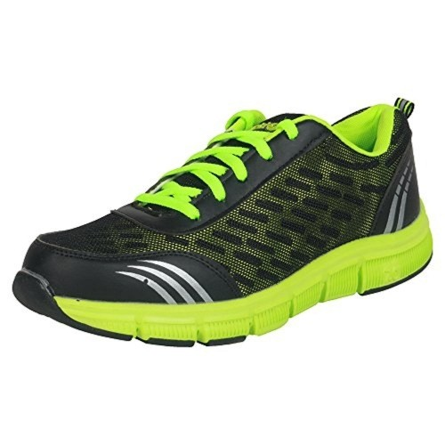 Action Shoes Bmb-702-Neon & Black Sports Shoes