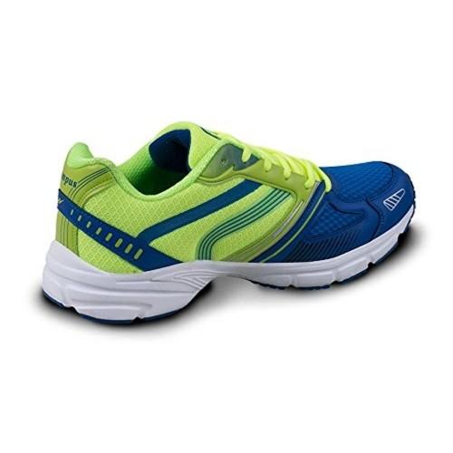 Campus Parrot Green \u0026 Blue Sports Shoes