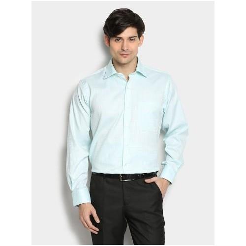 Buy Louis Philippe Light Green Formal Shirt online ... Louis Philippe Formal Shirts