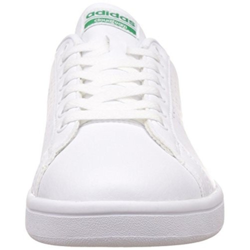 Buy adidas neo Men's Cloudfoam Advantage Clean Leather Sneakers ...