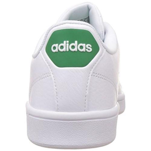 adidas neo men's cloudfoam advantage clean leather sneakers