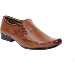 Denvor Brown Leather Formal Shoes