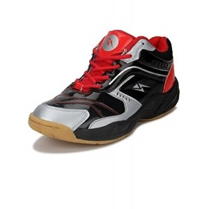 Yepme Men's Red & Black Badminton Shoes