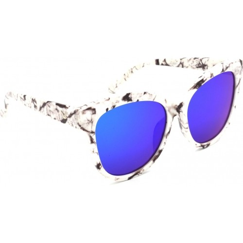 Hrinkar HRS321-WT-BWN-BU_1 Cat-eye, Oval, Round Sunglasses