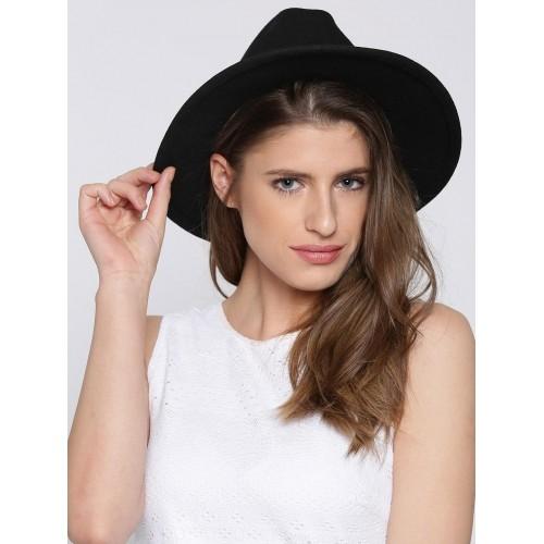 Buy FOREVER 21 Women Black Sun Hat online  71e1cf87ee1