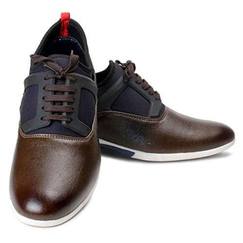 Bacca Bucci Men Brown PU Casual Shoes