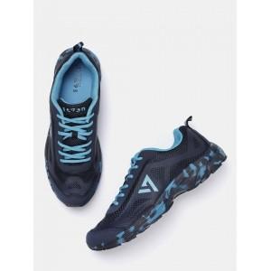 Seven Blue&Black Running Shoes For Men