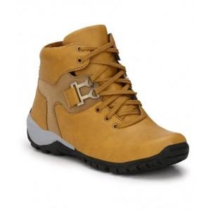 Shoe Island Tan Casual Boot