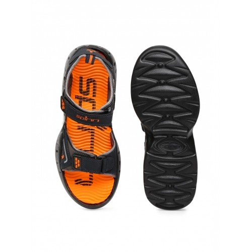 a14e34ec6c5d Buy Spinn Black   Orange Merrell Sports Sandals online
