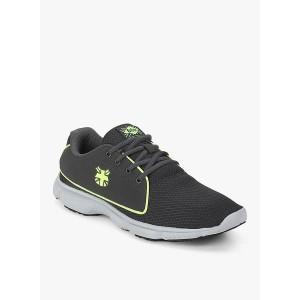Lee Cooper Men's Grey Running Shoes-10 UK