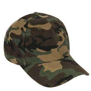 ilu Green Comouflage Printed Caps