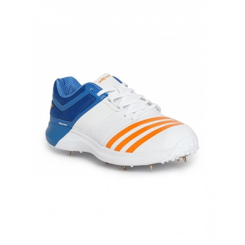 d397dc34f352fa Buy Adidas Men White Adipower Vector Cricket Shoes online