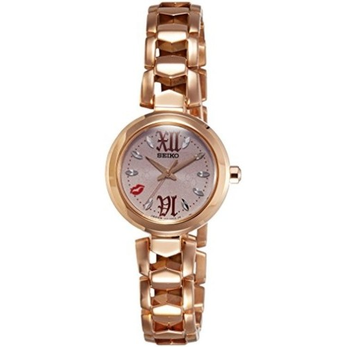 Seiko Vivace Analog Gold Dial Stainless Steel Watch
