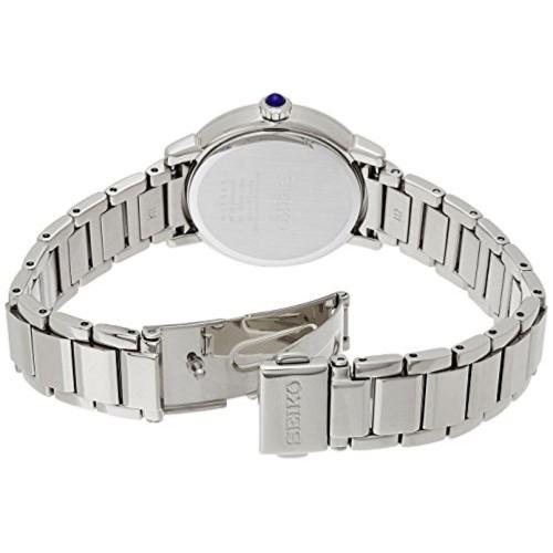 Seiko SRZ447P1 White Stainless Steel Analog Watch