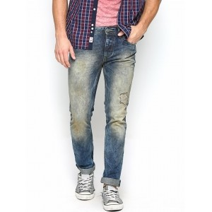 Jack & Jones Men Blue Slim Fit Jeans