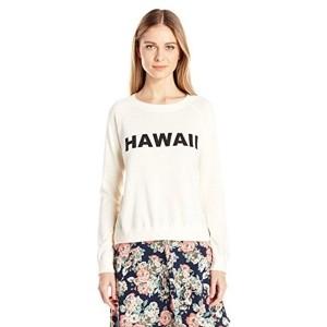 Monrow Off White Printed Vintage Sweatshirt