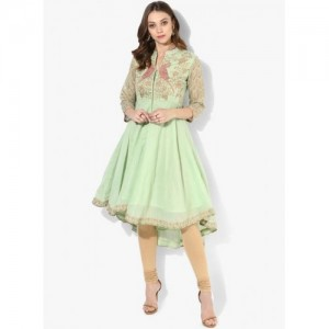 Biba Embroidered Tail Cut Anarkali Kurti