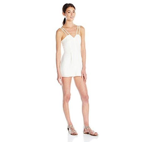 73ac830cd1 Buy NEW LOOK Women s Go Dbl Strap Crepe Playsuit online