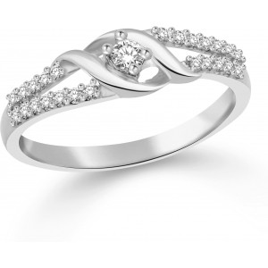 Classic Gift Silver Rhodium Plated Ring
