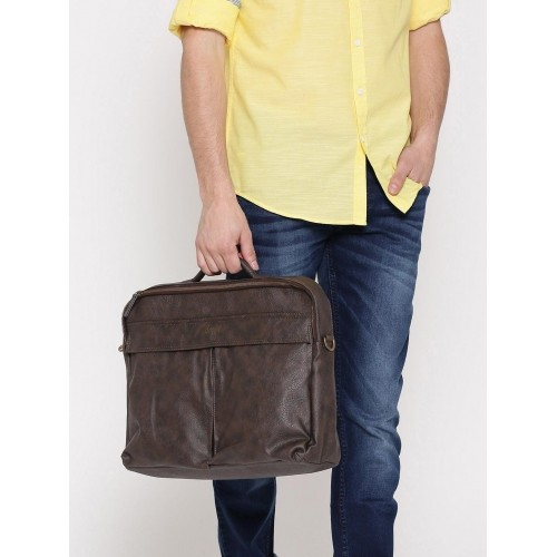 Baggit Men Brown Laptop Bag