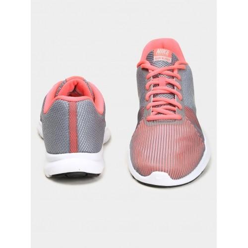 9f74828f29304 Buy Nike Women Grey   Pink Flex Bijoux Training Shoes online ...