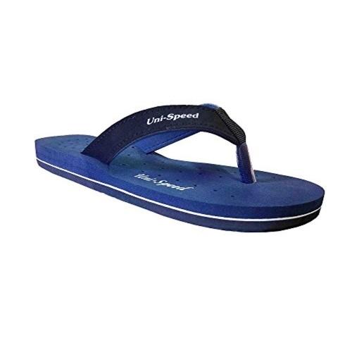 Unispeed Blue EVA Slip-On Flats Flip Flops