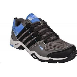 Campus Men's Triggeer Dark Grey and Sky Running Shoes