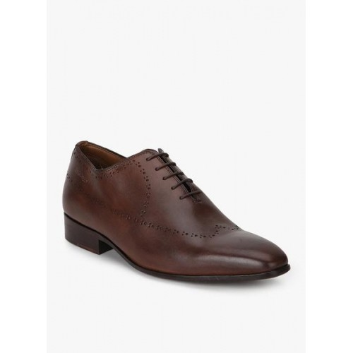 ... Hush Puppies Brown Brogue Formal Shoes ...