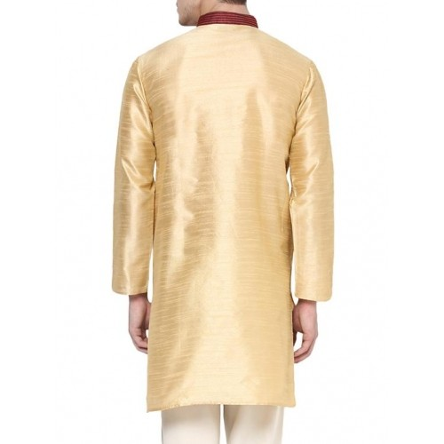 Yepme beige polyester kurta