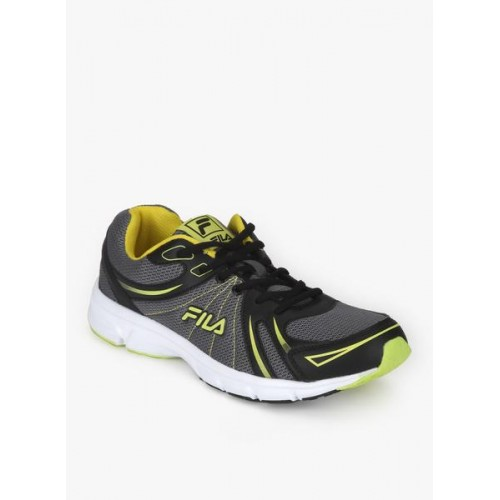 05bedeb3c766 Buy Fila Gray Synthetic Lace Up Sports Shoes online