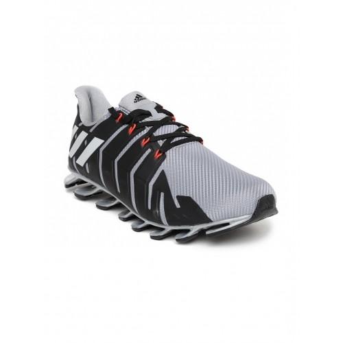 ... Adidas Men Grey & Black Springblade Pro Running Shoes ...