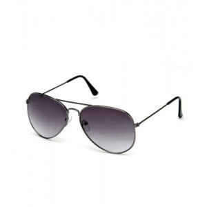 Sunglasses in Aviator Style  In Dark shade (In Case & Wiping Cloth)(Goggles)