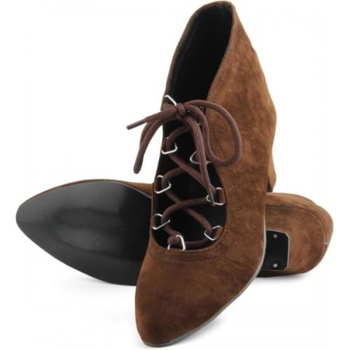 Cute Fashion Dark Brown Boots