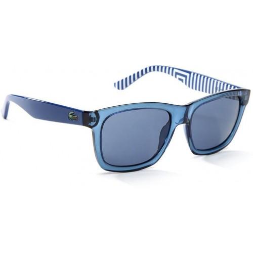e36b8e8dd Buy Lacoste L711S 424 Blue Full Frame Wayfarer Sunglasses online ...