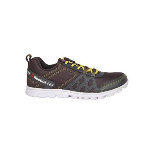 619fa48bfb2d0 Buy Reebok REEBOK Men RUN FUSION Brown-Grey Running Shoes online ...