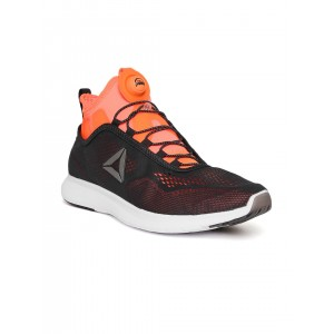 Reebok Men Black PUMP PLUS TECH Running Shoes
