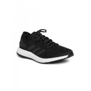 Adidas Men Black PUREBOOST Running Shoes