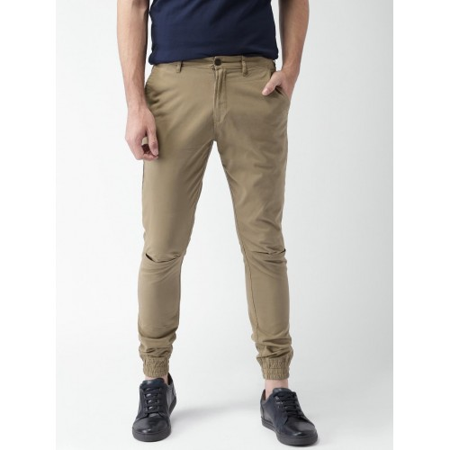 professional design cheapest sale price reduced Buy Mast & Harbour Men Khaki Solid Chino Joggers online ...