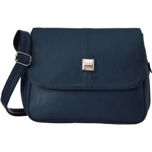 Buy Fristo Women Blue PU Sling Bag online  873f10a88